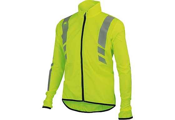 Sportful Kids Reflex Jacket - Fluoro Yellow