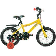 "image of Raleigh Atom Kids' Bike - 14"" Wheel - Yellow"