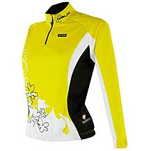 image of Nalini Lady Galloccia Long-Sleeved Cycling Jersey
