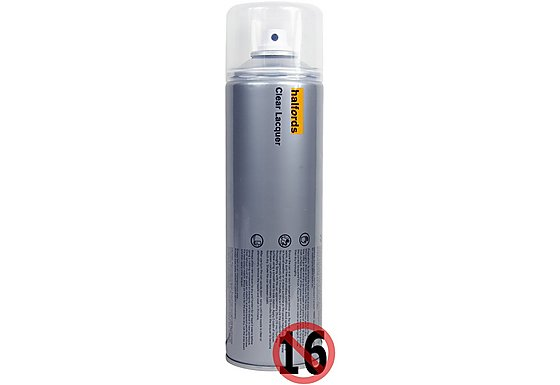 Halfords Clear Lacquer 500ml