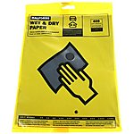 image of Halfords Wet & Dry Sanding Paper 400 Grit