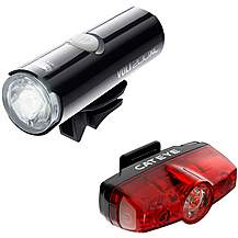 image of Cateye Volt 200 XC Rapid Mini Bike Light Set
