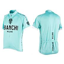 image of Nalini Mens Bianchi Short Sleeve Cycling Jersey