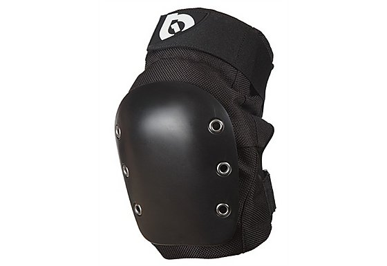 SixSixOne DJ Knee Guards - Black