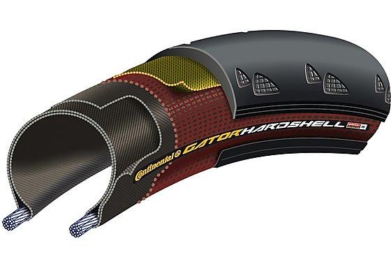 Continental Gator Hardshell Tyre - 700c