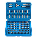 image of Draper 100 Piece Screwdriver Bit Set