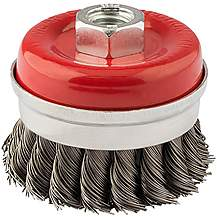image of Draper 60mm Twist Knot Wire Cup Brush
