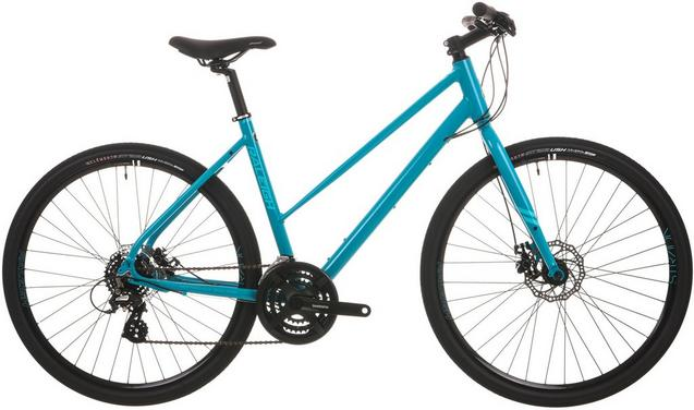 Raleigh Strada 2 Womens Hybrid Bike Image