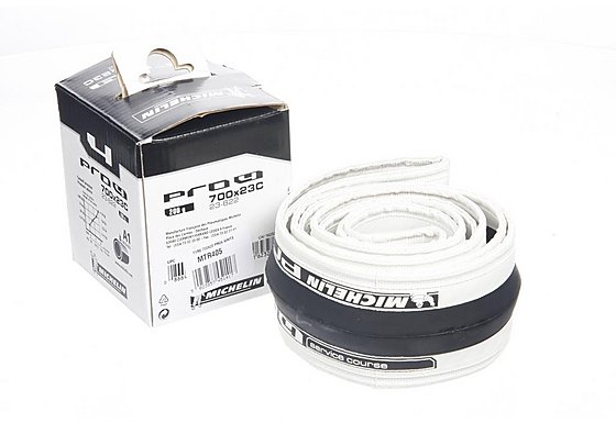 Michelin Pro4 Bike Tyre - White