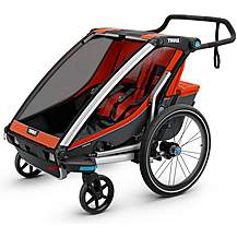 image of Thule Chariot Cross 2 Multisport Child Trailer - Roarange