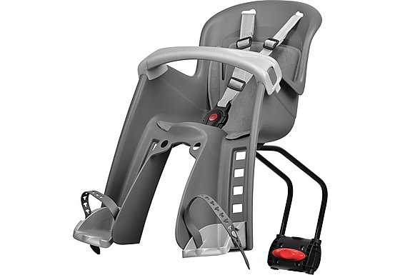 Polisport Bilby Child Seat, Grey