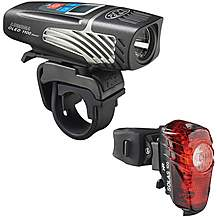 image of NiteRider Lumina OLED 1100 Boost & Solas 100 Combo Bike Light Set
