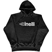 image of Cinelli Black Reflective Hoodie