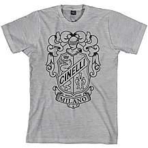 image of Cinelli Crest Grey T-Shirt