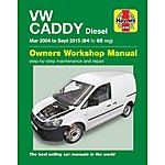 image of Haynes VW Caddy Diesel (04-15) Manual