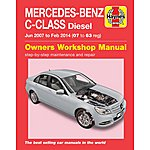 image of Haynes AMerecedes-Benz C-Class Diesel (07-14) Manual