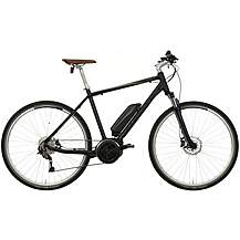 "image of Carrera Crossfuse Mens Electric Hybrid Bike - 17"", 19"", 21"" Frames"