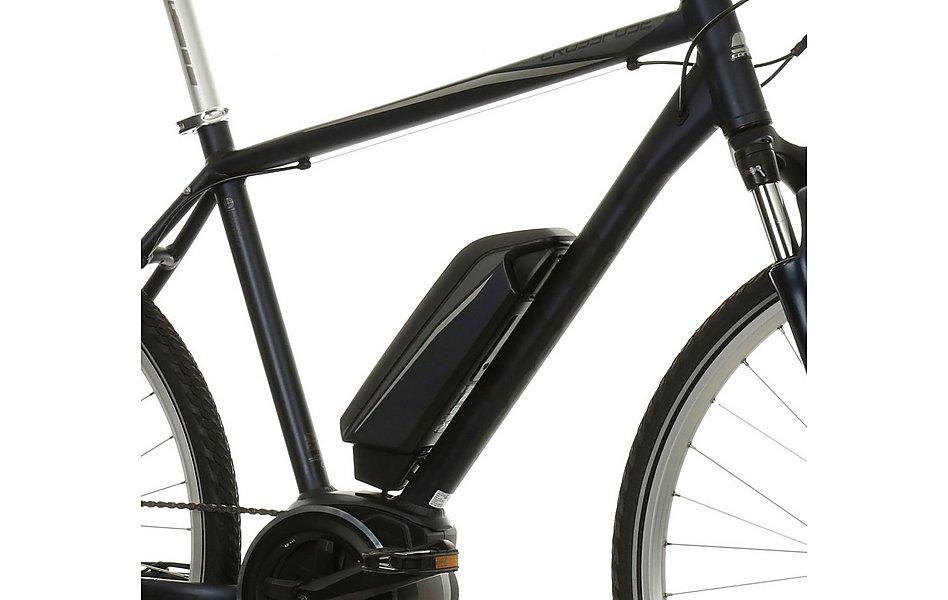 Crossfuse Mens Hybrid Electric Bike 17 19 21 Frames