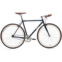 image of Quella Varsity Oxford Fixie Bike - 51, 54, 58, 61cm Frames