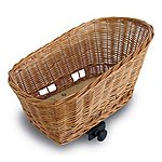image of Basil Pasja System Elba Wicker Dog Basket