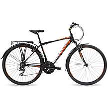 "image of Ford Kuga City Mens Hybrid Bike - 18"", 21"" Frames"