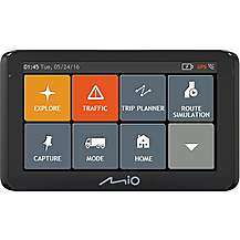 "image of Mio Spirit 8670 HGV Sat Nav 6.2""  With Full Europe Maps"