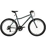 image of Carrera Parva Womens Hybrid Bike - Grey/Blue