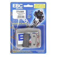 EBC Hope Mono 6 Disc Brake Pads, Red.