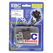 image of EBC Hope Pro C2 Piston Red Disc Brake Pads