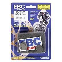 image of EBC Magu Louise/Clara -01 Disc Brake Pads