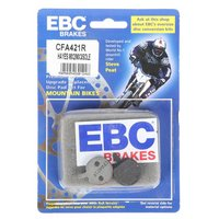 EBC Hayes MX2/3 and Sole Disc Brake Pads, Red