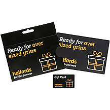 image of Halfords 50 Pound Super Size Gift Card