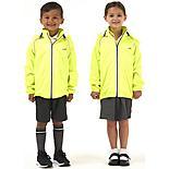 Ridge Kids Jacket - Fluro Yellow