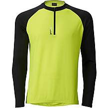 image of Ridge Mens Cycle Jersey - Fluro/Black
