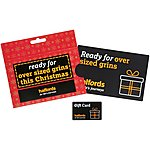 image of Halfords 50 Pound Super Size Christmas Gift Card