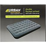 Urban Escape Airbed with Built In Pump - Double