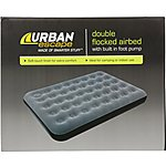 image of Urban Escape Airbed with Built In Pump - Double