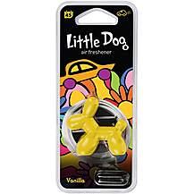image of Little Dog Yellow Vanilla Air Freshener