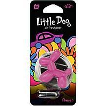 image of Little Dog Pink Flower Air Freshener