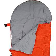 image of Halfords Mummy Style Sleeping Bag - Red