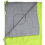 image of Halfords Envelope Sleeping Bag - Lime Green