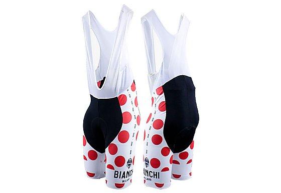 Nalini Bianchi Polka Dot Bib-Shorts