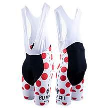 image of Nalini Bianchi Polka Dot Bib Shorts