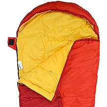image of Urban Escape Junior Sleeping Bag - Red