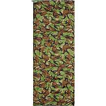 image of Halfords Camouflage Envelope Sleeping Bag