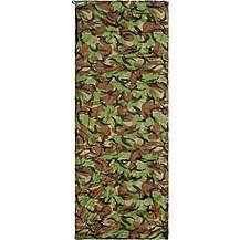 Halfords Camouflage Envelope Sleeping Bag