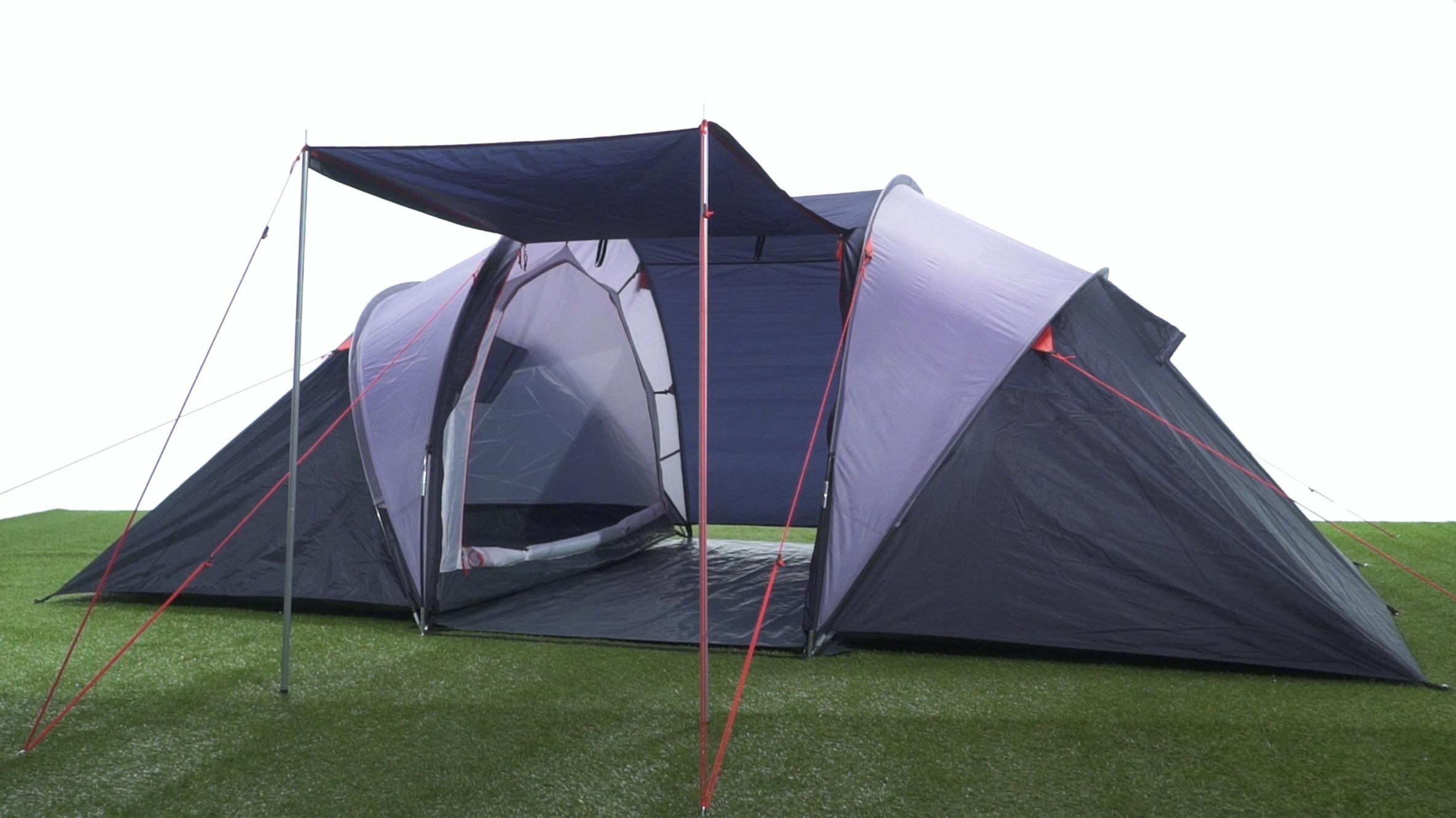 Halfords 4 Man Vis A Vis Tent  sc 1 st  Halfords & 4 Man Vis A Vis Tent
