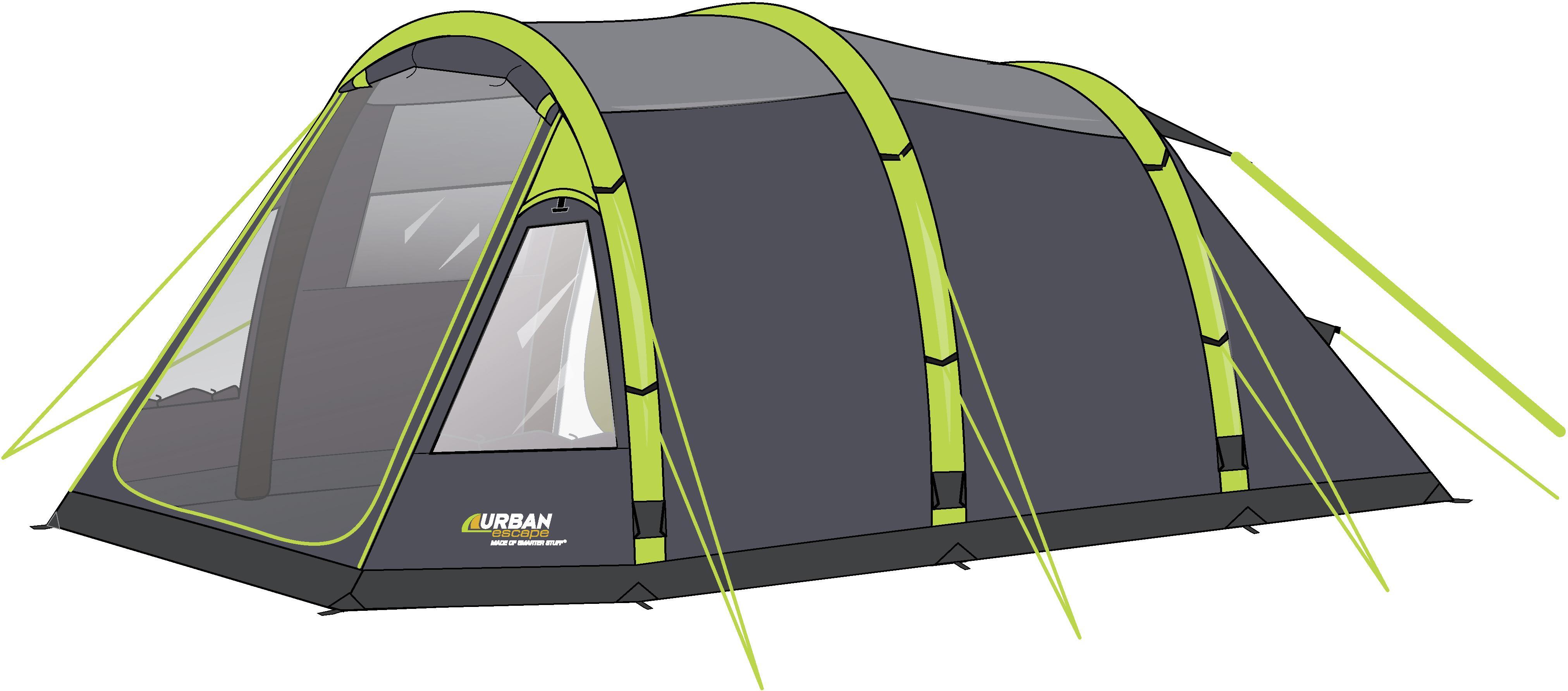 Urban Escape 4 Man Inflatable Tent  sc 1 st  Halfords & Escape 4 Man Inflatable Tent