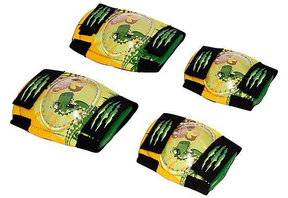 Apollo Marvin the Monkey & Claws Boys Bike Pads