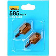 image of Halfords 585 WY21W Car Bulbs x 2